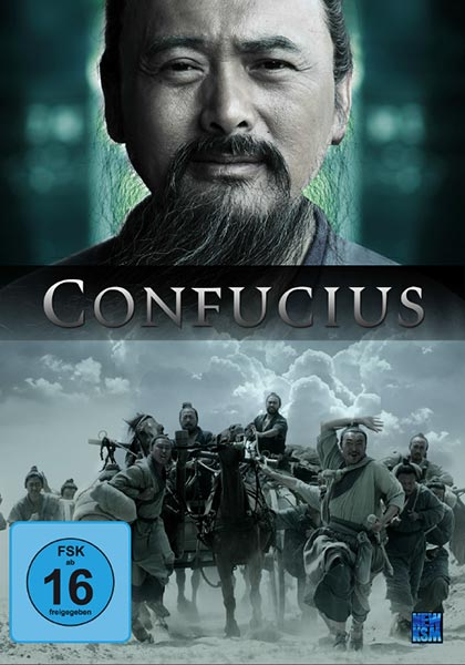 DVD Cover Film Confucius