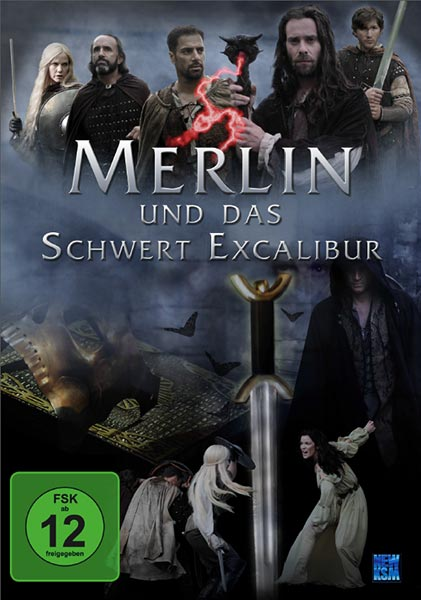 DVD Cover Film Merlin