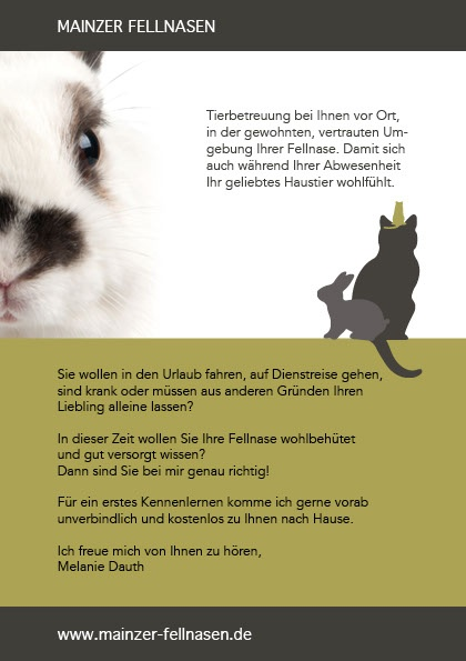 Flyer Mainzer Fellnasen